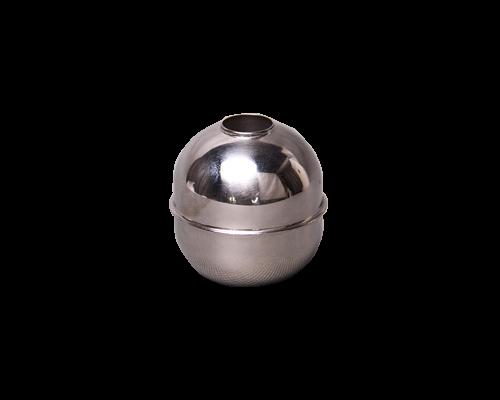 不锈钢通孔式浮球